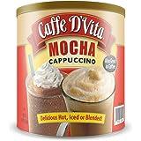 Caffe D'Vita Mocha Cappuccino 4 lb can (64 oz)