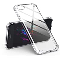 UGREEN Clear Case for iPhone 7/8 Transparent Shockproof Bumper Case Soft TPU Protective Mobile Phone Gel Skin Cover…