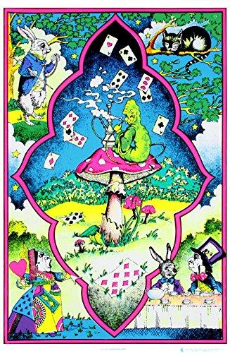 Alice in Wonderland  Art Poster Print