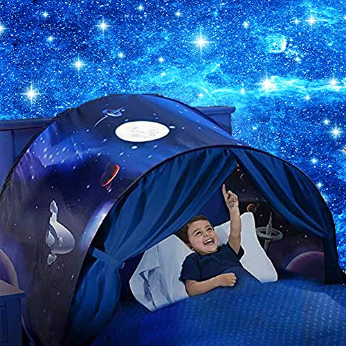 Kids Dream Bed Tent Space Adventure