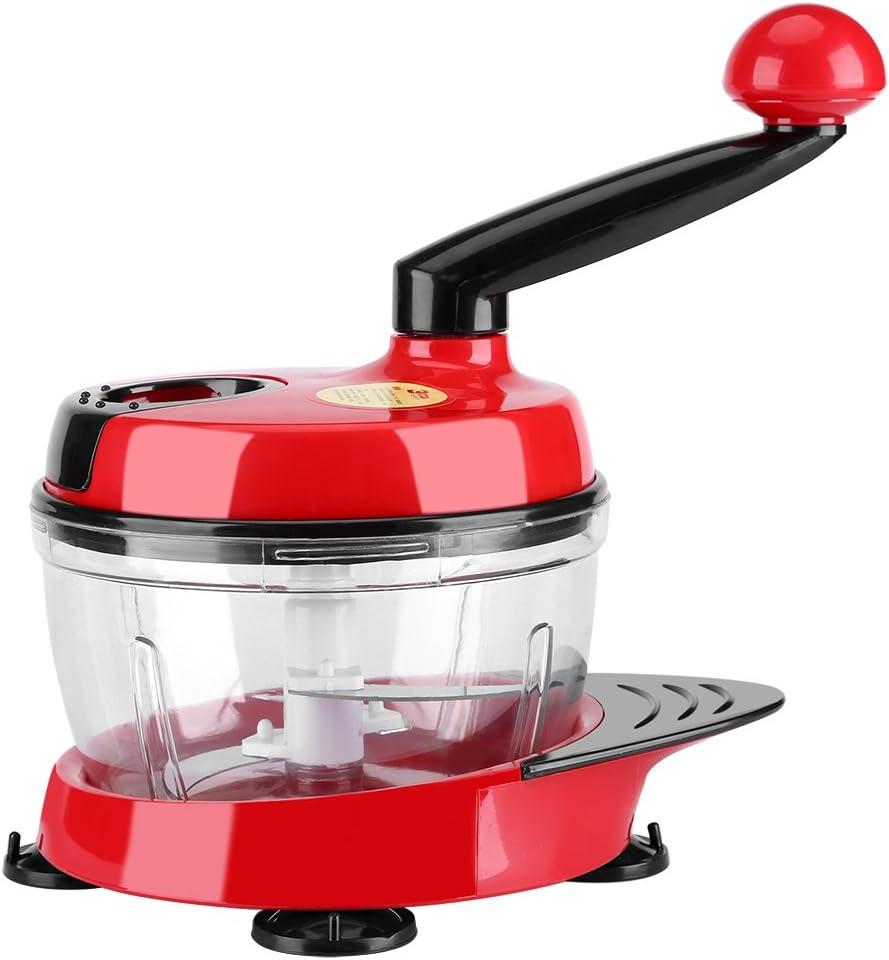 Picador de Alimentos Cortador de Verduras Manual Chopper con ...
