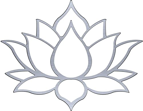 Master Cut Lotus Metal Wall Art for Home Decor- Wall Art – Easy to Hang – Stainless Steel Art – Abstract Wall Art – Size – 30 x 40 – 3mm Thickness