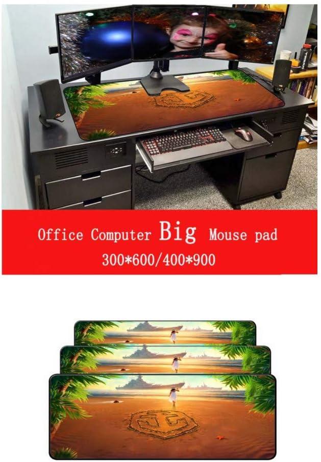 WHFDSBDLarge Lock Edge Mouse Pad Computer Mousepad Gaming Mousepad Gamer Laptop Mouse Mat