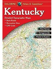 Delorme Kentucky Atlas & Gazetteer