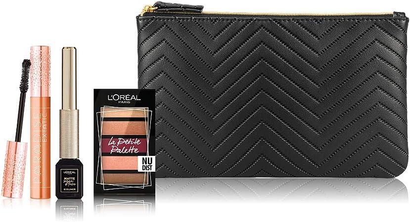 LOréal Paris Makeup – Estuche de maquillaje Paradise con Liner Signature y pequeña paleta: Amazon.es: Belleza