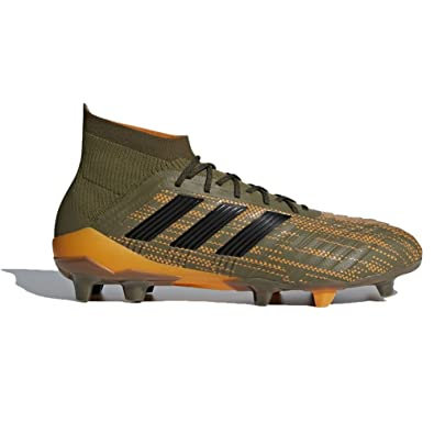 4f580298c117 Image Unavailable. Image not available for. Color: adidas Predator 18.1 FG  Cleat - Men's Soccer 9.5 Trace Olive/Core Black/Bright