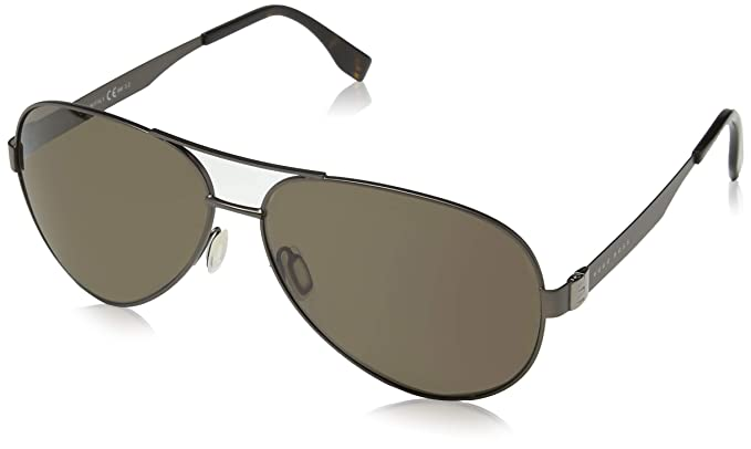 BOSS Hugo 0691/F/S SP R80 64, Gafas de sol para Hombre, Gris ...