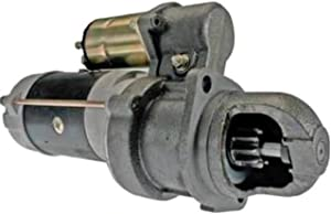 Rareelectrical NEW 12 VOLT 10 TOOTH STARTER MOTOR COMPATIBLE WITH JOHN DEERE TRACTOR 400G 1992 10461471 RE62916