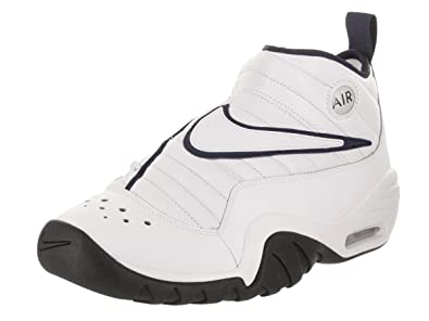 cae119b11153 Nike Air Shake NDestrukt White White-Midnight Navy (8.5 D(M)