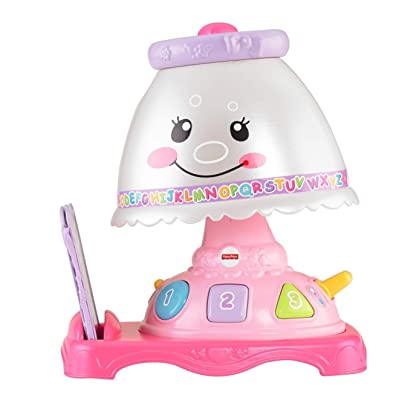 Fisher-Price Laugh & Learn My Pretty Learning Lamp: Toys & Games