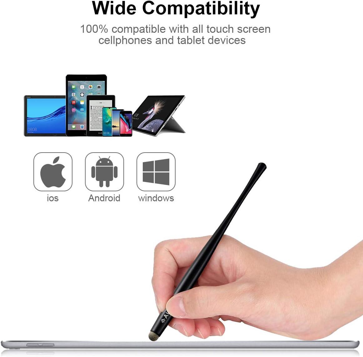 Retrak EUSTYLUSPLP Stylet pour Tablette//Smartphone Motif L/éopard