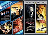Clint Eastwood 6 Film Favorites True Crime / Absolute Power + Space Cowboys / Honkytonk Man / Every Which Way But Loose / Any Which Way You Can DVD Feature movie set