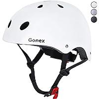 Gonex Casco ajustable Skateborad para niños y adultos 11 rejillas CE certificado patinaje ciclismo patinaje patinaje…