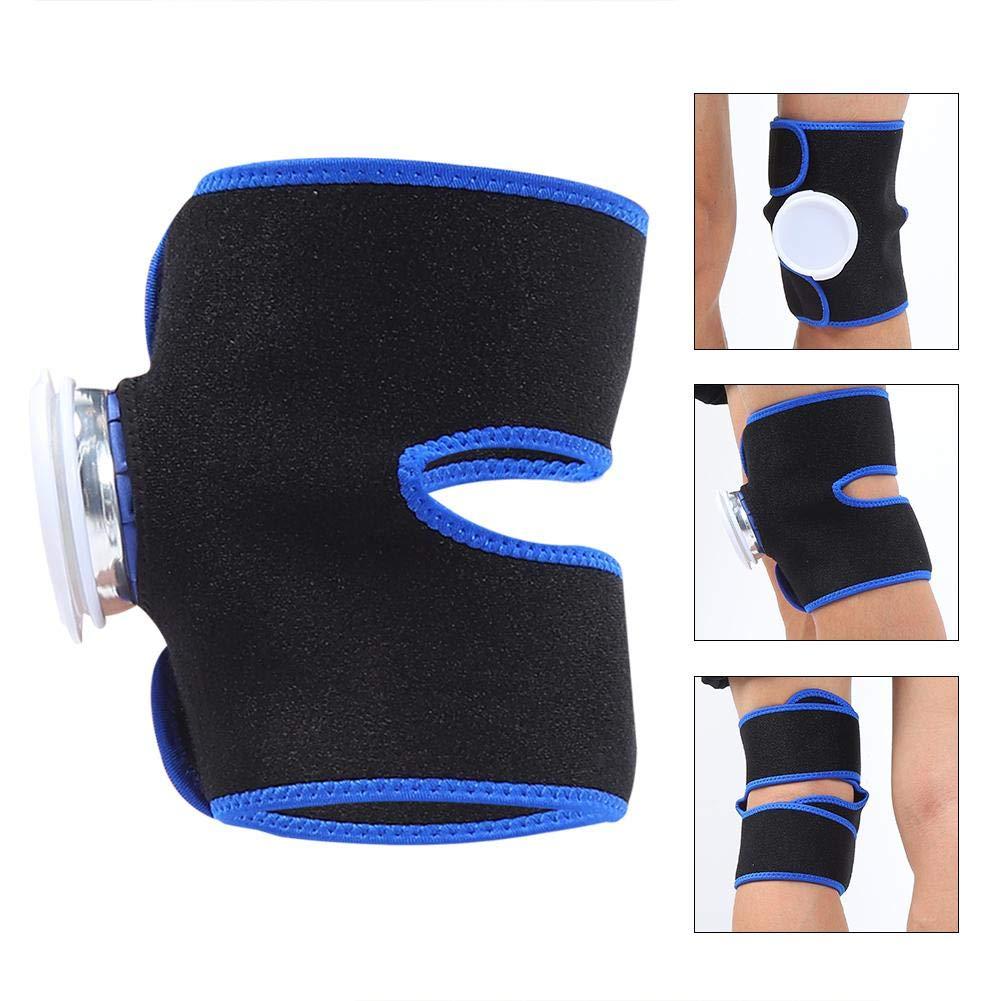 pour le sport support de genou de th/érapie chaud et froid avec sangle double ajustable sac de glace r/éutilisable tendinite etc douleur au genou Sac de glace 6 pouces