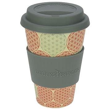Ebos Glucksbringer Coffee To Go Becher Aus Bambus Kaffee Becher