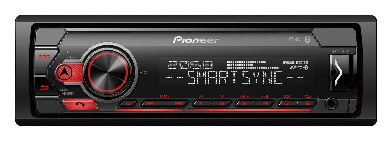 Pioneer MVH-S310BT Receptor RDS con Bluetooth, Negro: Amazon.es: Electrónica