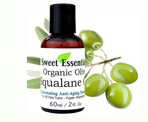Sweet Essentials 100% Pure Vegan Organic Squalane Oil
