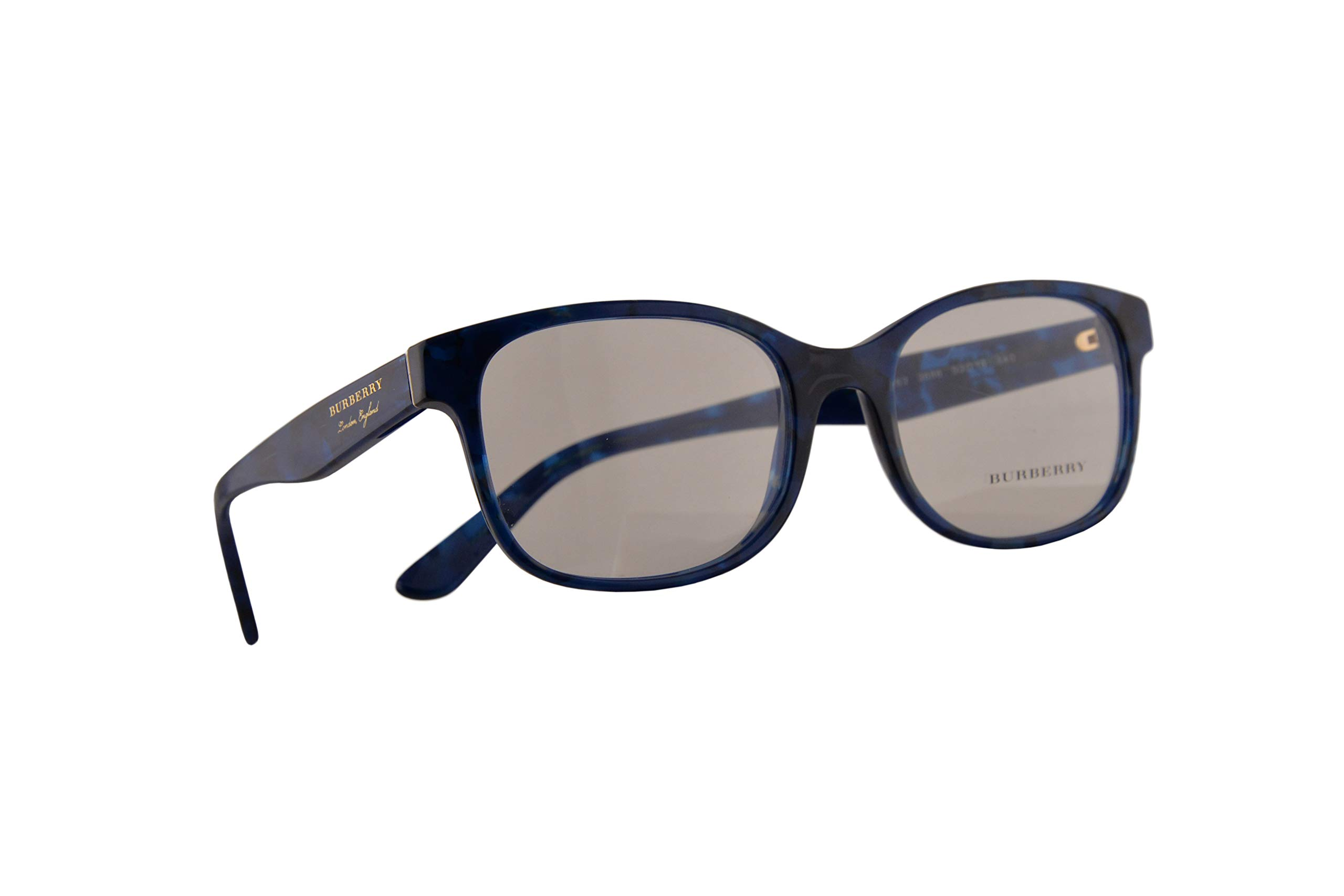 Burberry B 2263 Eyeglasses 53-18-140 Blue Havana w/Demo Clear Lens 3686 BE BE2263 B2263 by BURBERRY