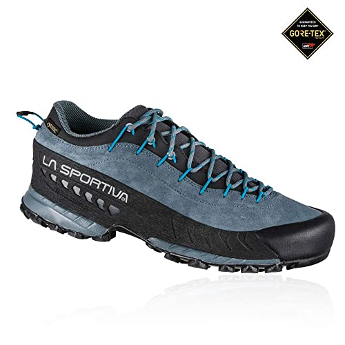 La Sportiva TX4 GTX, Zapatillas de Senderismo para Hombre, (Slate/Tropic Blue