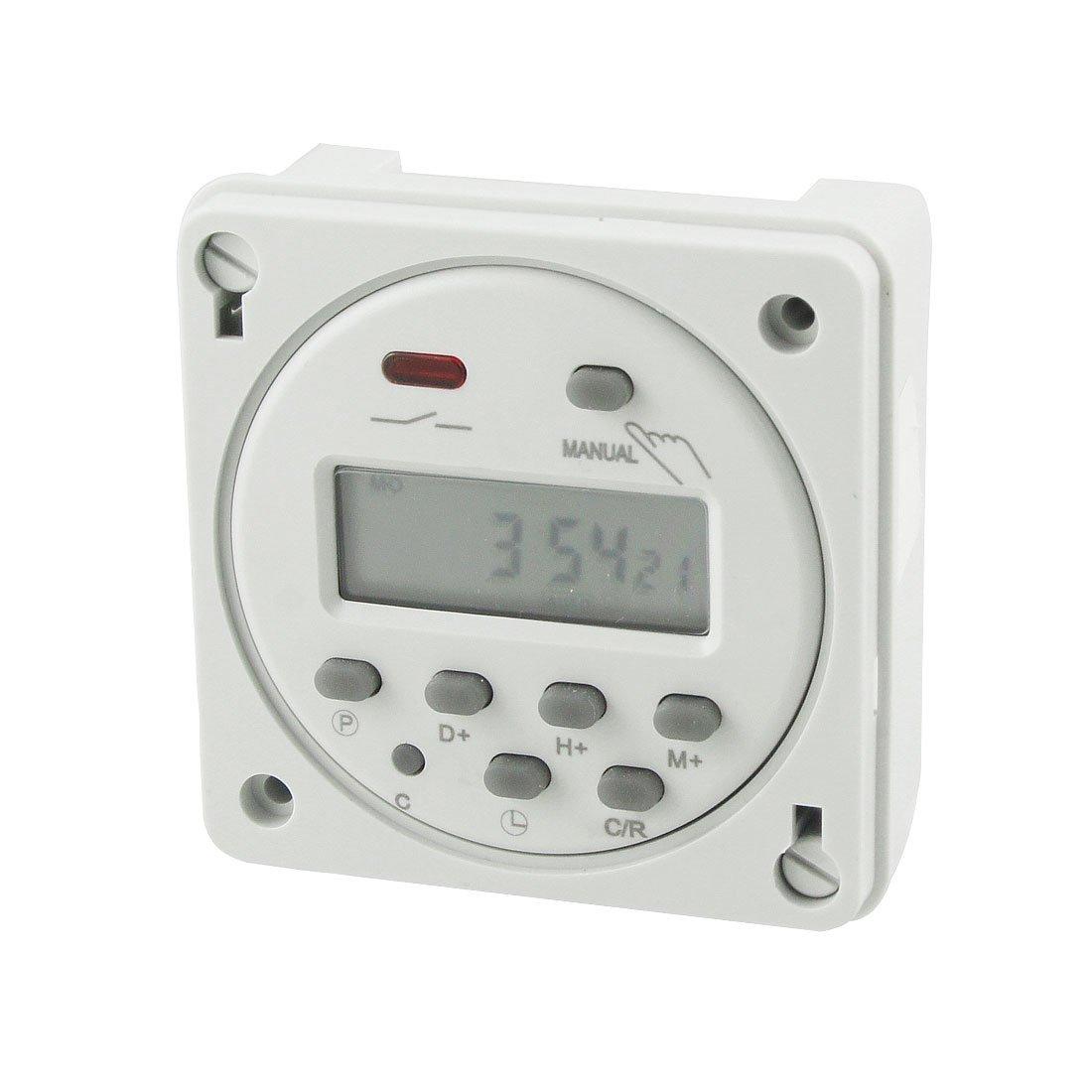 110V 16A AC Cn101A LED Digital Potencia Temporizador Programable: Amazon.es: Bricolaje y herramientas