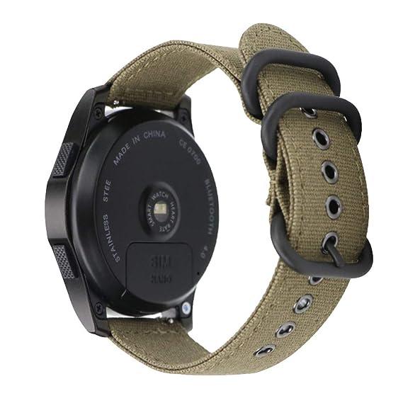 20mm NOTO Green Nylon Watch Strap Replacement Mens Nylon ...