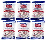 Set of 6 - 4oz Bags of Original Candy Wafers by Necco - Retro & Nostalgic Hard Candies - Includes Assorted Flavors Such as Orange, Lemon, Lime, Clove, Chocolate, Cinnamon, Licorice and Wintergreen!