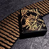 Black Gold Special Edition Bicycle Asura Playing Cards