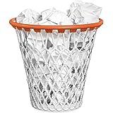 Balvi–Cestino da litri con divertente design del canestro da basket. Colore bianco. Robusta struttura in plastica.