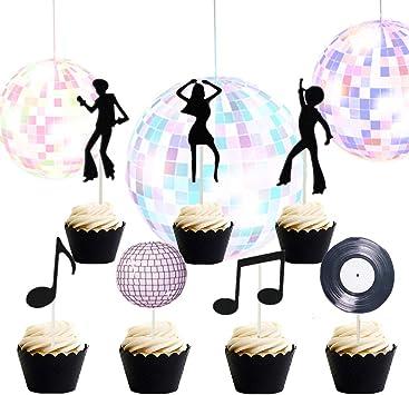 Amazon.com: Juego de 35 decoraciones para cupcakes de ...