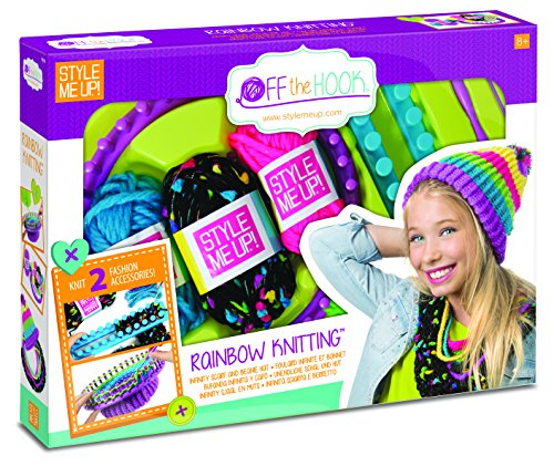 Wooky Entertainment WO808 Style Me Up! Rainbow Knitting Kit