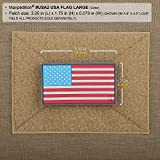 Maxpedition Gear USA Flag Large Patch, Arid, 3.25 x