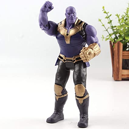 Amazon Com Papwell Thanos Action Figure 6 7 Inch Marvel Legends