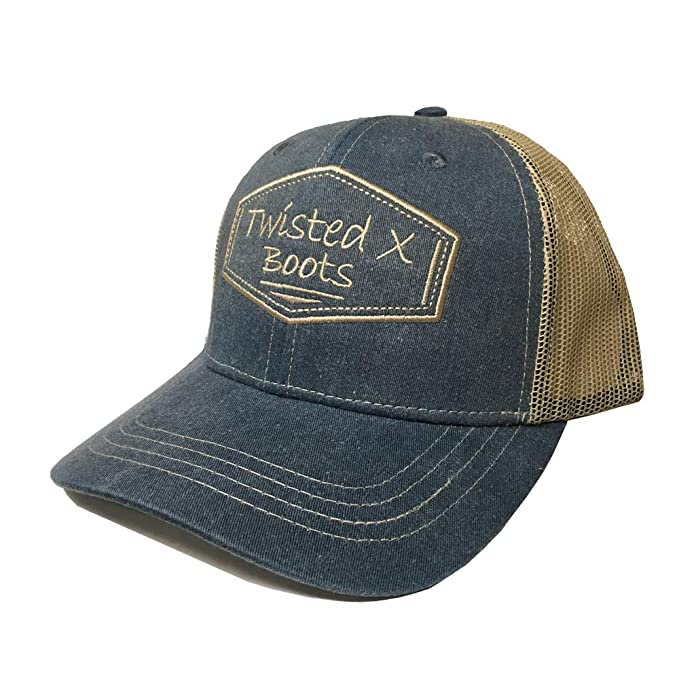 3899a0b2926 Twisted X Denim Adjustable Snapback Hat at Amazon Men s Clothing store