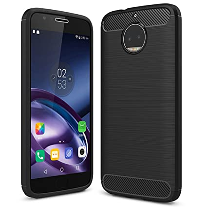 Moto G5S Plus Case, Moto G5S+ Case - Suensan TPU Shock Absorption  Technology Raised Bezels Protective Case Cover for Motorola Moto XT1806  (USA) (TPU