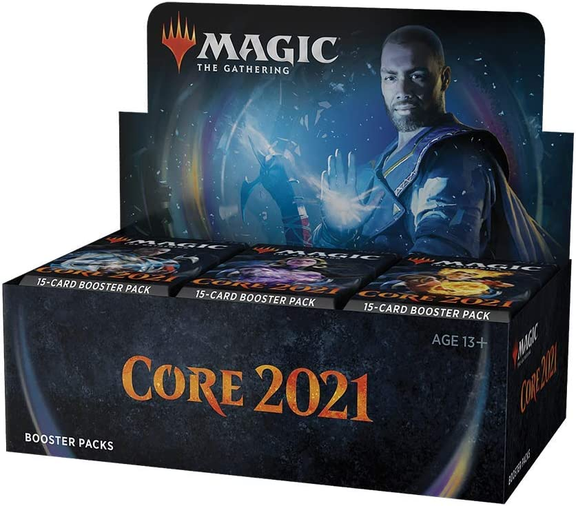 Magic: The Gathering Core Set 2021 (M21) Draft Booster Box   36 Booster Packs (540 Cards)   Latest Set