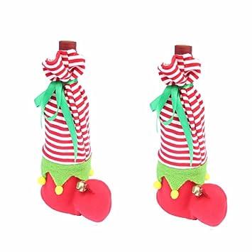 oryougo Navidad medias para niños, decoración para Navidad, diseño de calcetín de Navidad bolsas