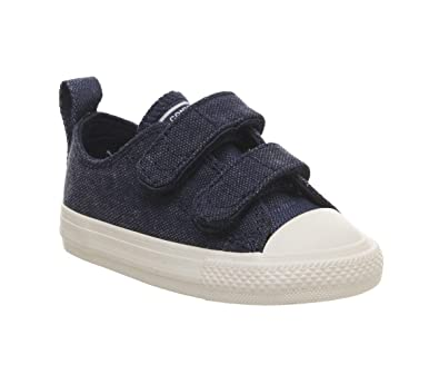74bc26b6b9fb Converse Kids' Chuck Taylor 2v Ox (Infant/Toddler): Amazon.co.uk ...
