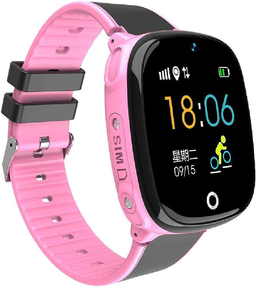 Wiivilik Reloj Inteligente para niños, Reloj Impermeable ...