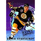 Dmitri Kvartalnov Hockey Card 1992-93 Ultra Import #12 Dmitri Kvartalnov