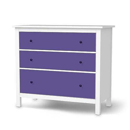 Furniture Film Ikea Hemnes 3 Drawer Chest Protection Design Purple