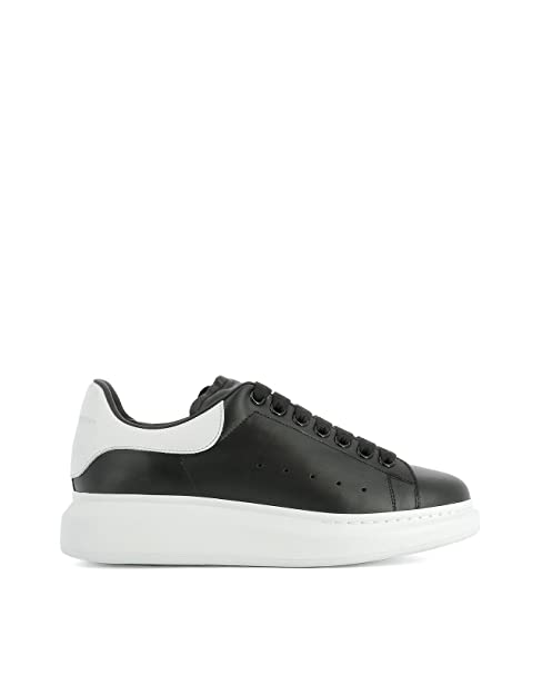 Alexander McQueen Sneakers Uomo 441631WHGP51070 Pelle Nero ...