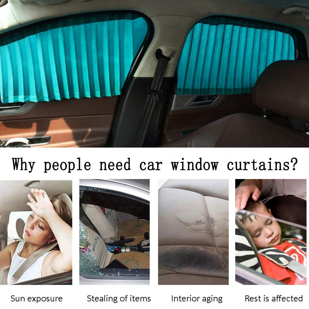 for Baby Pets Kids GF Pro Car Window Sun Shade for Sun//UV Ray Protection and Privacy