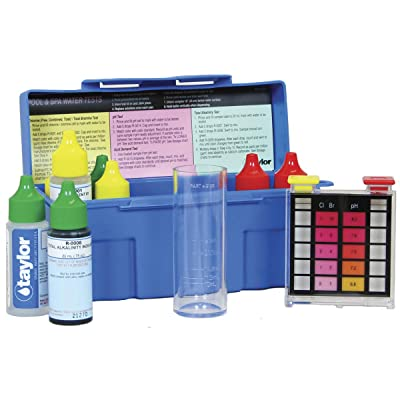 Taylor Technologies K-1004-1 Test Kit Residential Trouble-Shooter DPD : Swimming Pool Liquid Test Kits : Garden & Outdoor