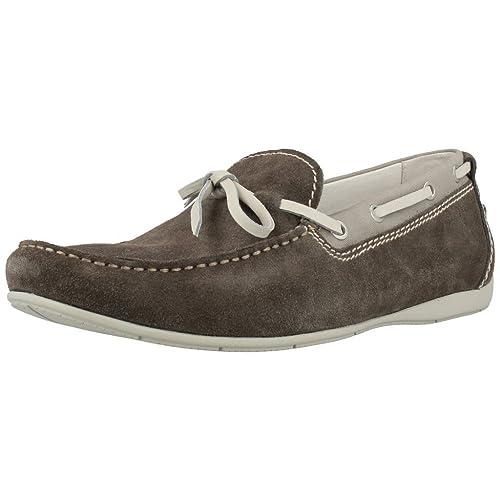 Mocasines para hombre, color gris , marca STONEFLY, modelo Mocasines Para Hombre STONEFLY SUNNY 5 Gris: Amazon.es: Zapatos y complementos