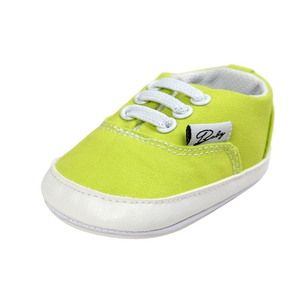BOBORA Baskets Bebe, Chaussures de Prefactrices pour Bebe Fille Garcon 0-6, 6-12, 12-18Mois BO-FR552