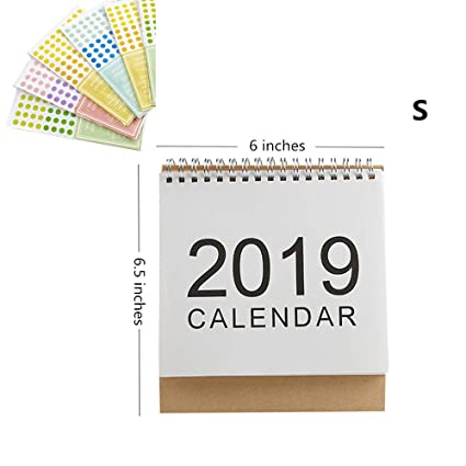 Amazon.com : MultiBey Desktop Calendar DIY Table Stand ...