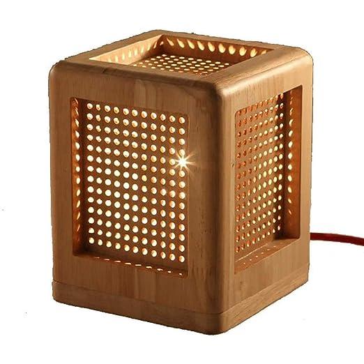 EAHKGmh Lámpara de Mesa, Creativo Estilo Chino lámpara de ...