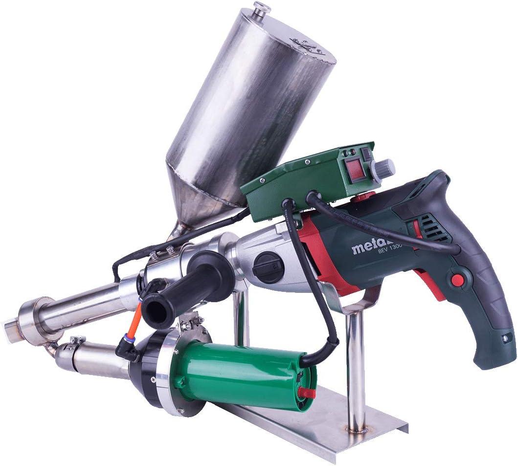 Lesite Hand Plastic Extrusion Welder Gun Granules Extruder Welding Machine For Pp Pe Ps Pvdf Amazon Com