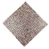 "YIZUNNU Self Adhesive Mosaic Aluminum Tile Kitchen Bathroom Backsplash Peel And Stick 11.8""x11.8""/30cmx30cm"
