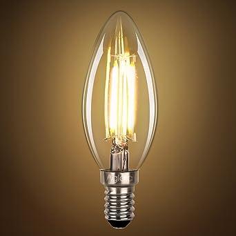 Led Glühbirne E14 Fassung Mit Glühfaden 35 Watt Entsprechen 40